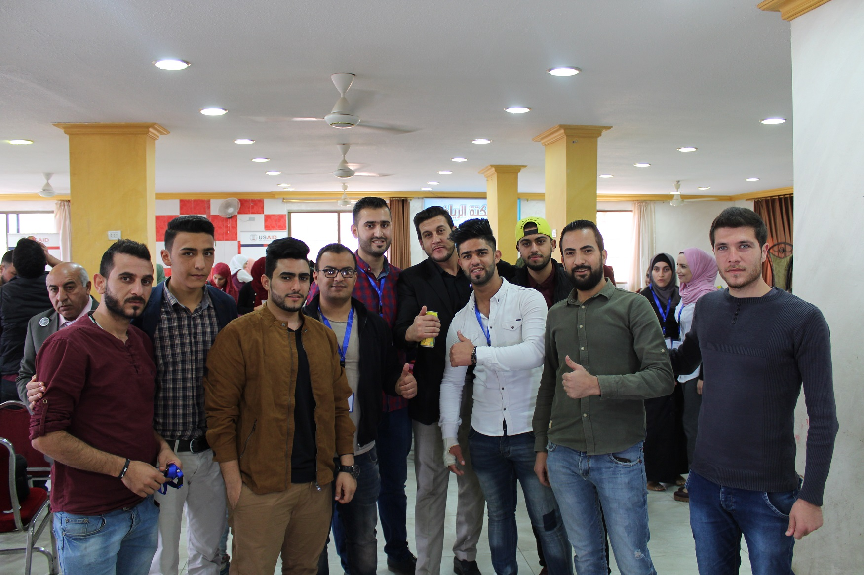 USAID YouthPower Jordan Activity - young men