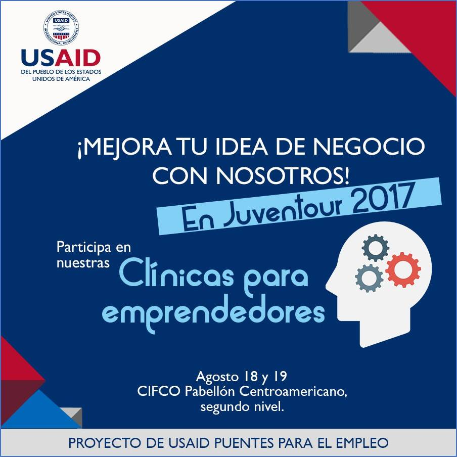 The USAID Bridges to Employment project participated in El Salvador's largest youth event, Juventour