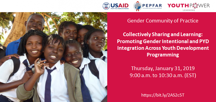 Collectively Sharing and Learning: Promoting Gender-Intentional and PYD Integration Across Youth Development Programming