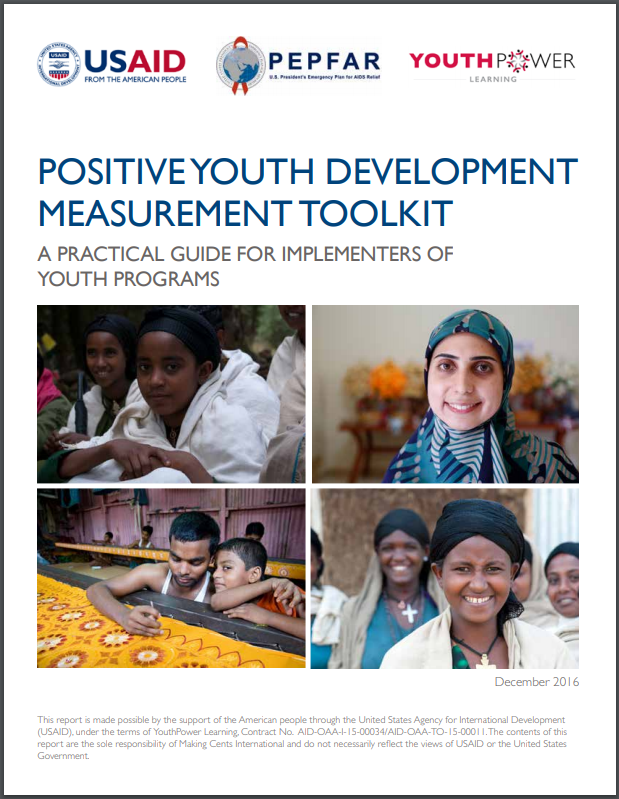 Positive Youth Development Measurement Toolkit
