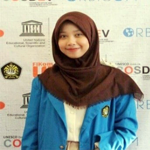 Ms. Sayyidah Afifah was the first intern of the Mitra Kunci program