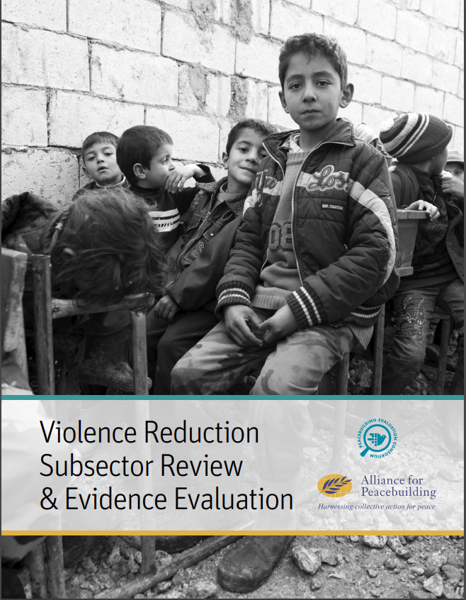 The Violence Reduction Subsector Review and Evidence Evaluation
