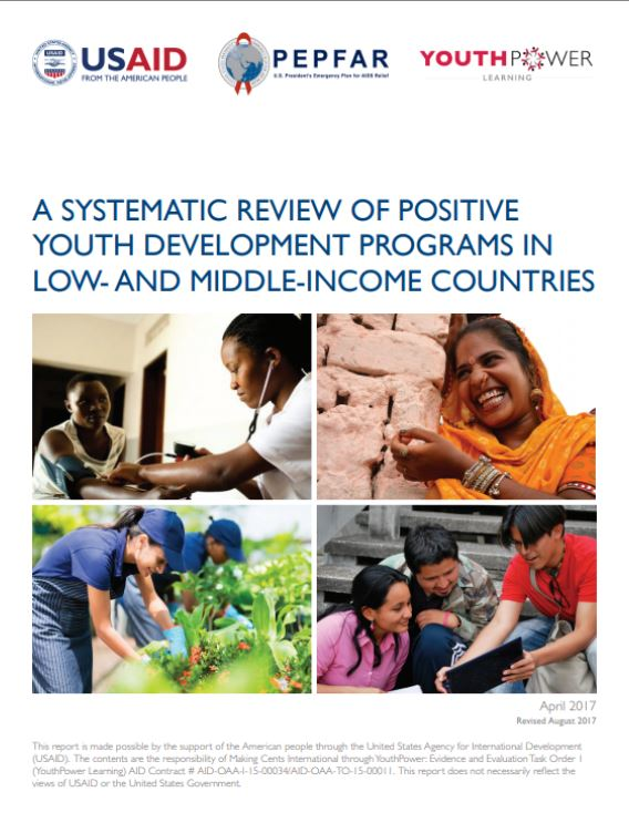 A Systematic Review of Positive Youth Development Programs in Low- and Middle-Income Countries